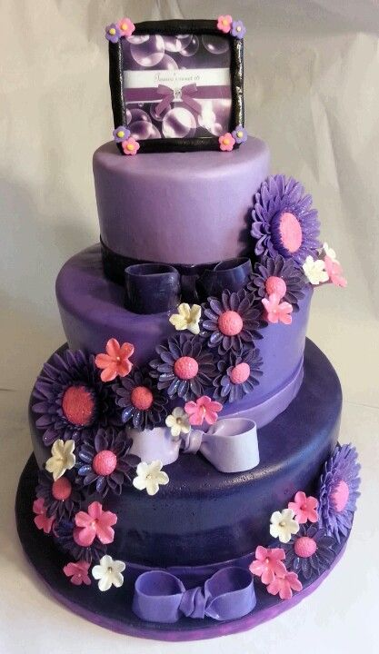 45 Best Purple Sweet 16 Images On Pinterest 16th