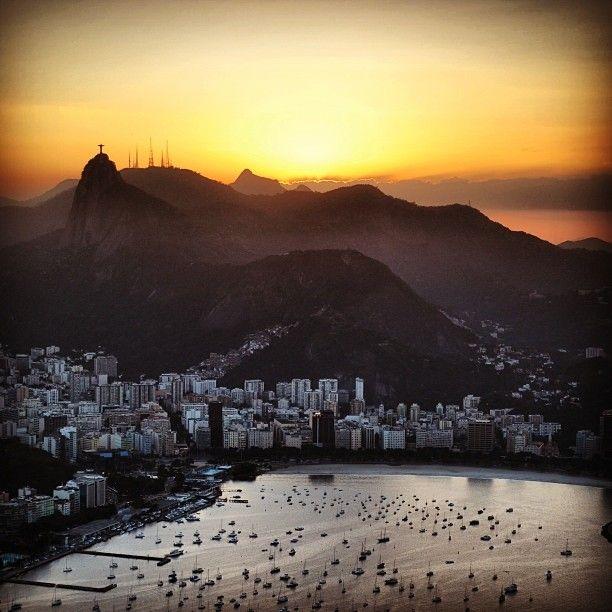 Breathless Sunset #RiodeJaneiro