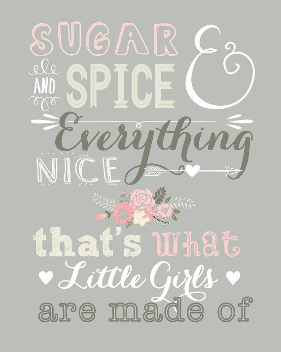 Sugar and Spice and Everything Nice by DubDubDesigns on Etsy, $12.00