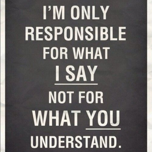 ....not what you understand.