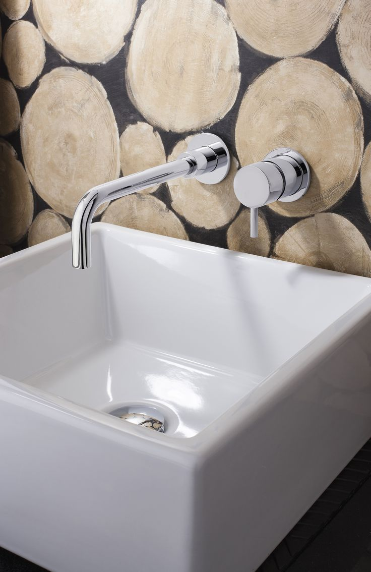 Contemporary bathroom taps uk - Wall Mounted Design Ideal For Saving Space And Creating A Contemporary Bathroom Look Mike