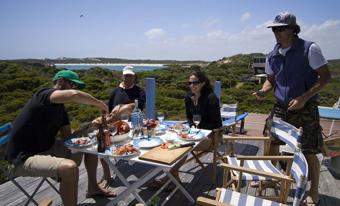 These are real people enjoying real Limestone Coast food #RestaurantAustralia in our backyard...........Where did you say you were spending Christmas or New Year