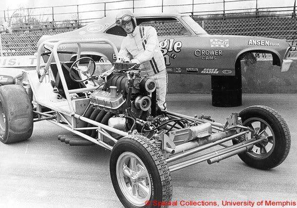 Jim enz redhead race car #8