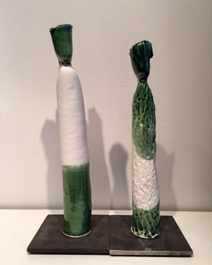 Little porcelain personalities by Naja Utzon Popov