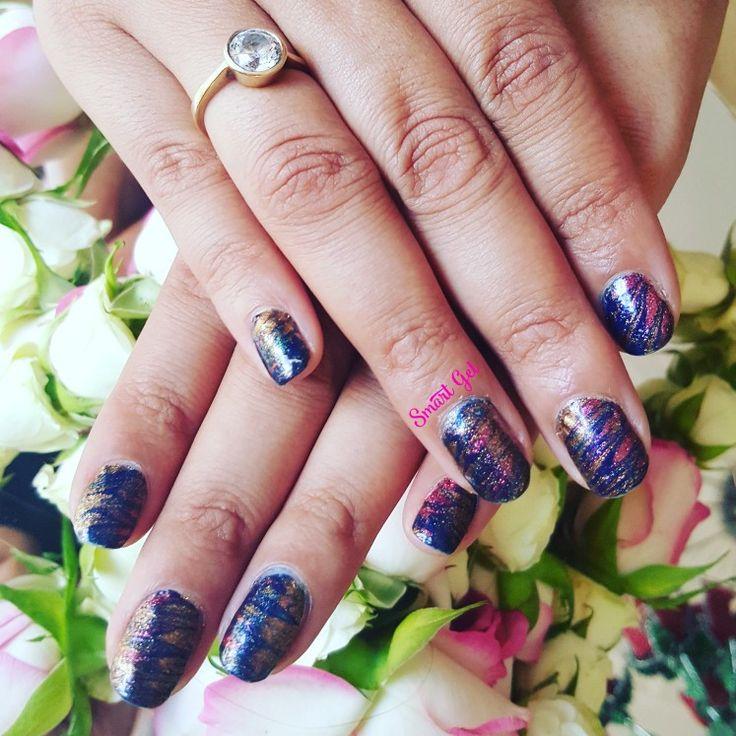 Marblenails with my fav glitter nail enamel 🤗  💅 #nails #nail #fashion #nailart #nailpolish #polish #nailswag #beauty #beautiful #pretty #girl #girls #stylish #sparkles #styles #glitter #art #photooftheday #love #style #shiny #cute #flowers #manicure #marblenails #smartge