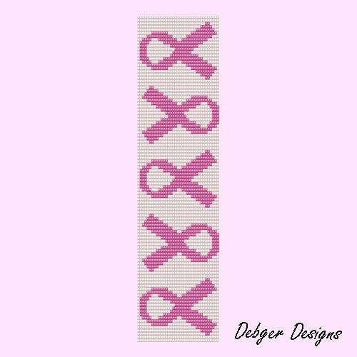 Bead Patterns Boutique - Cancer Awareness-Loom Bracelet Cuff