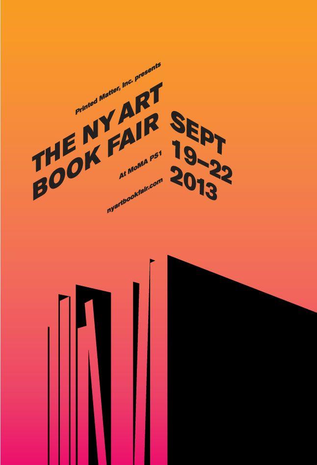 poster / NY art book fair