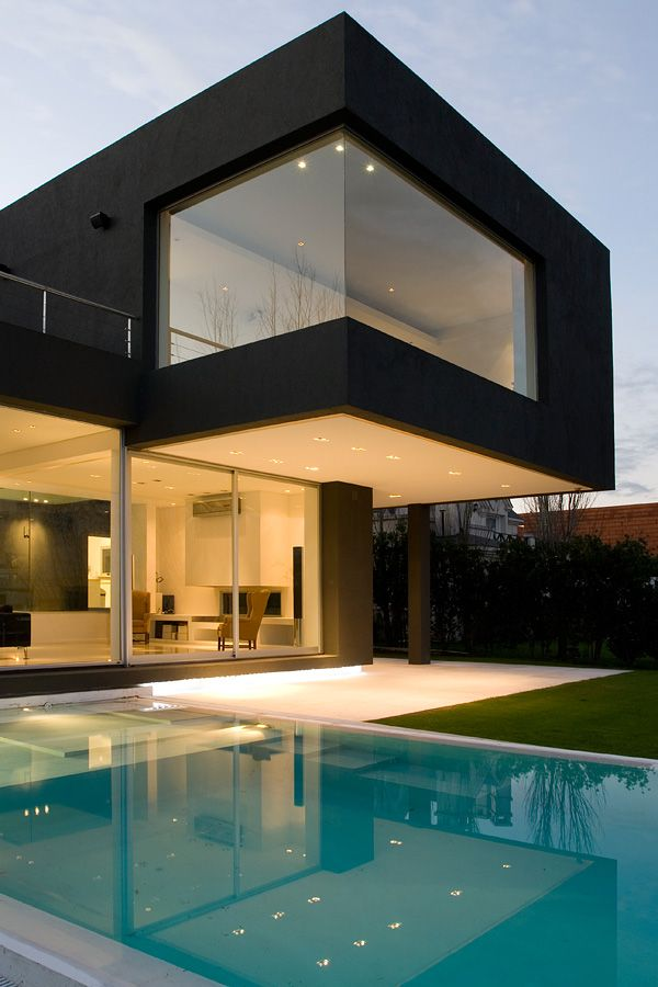 black house, andres remy arquitectos #house #architecture #black