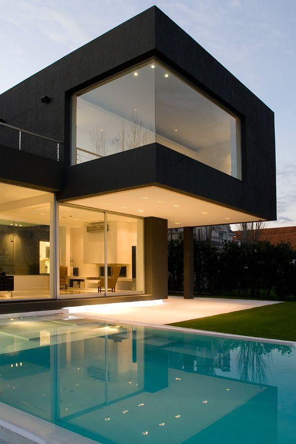 black house, andres remy arquitectos #house #architecture #black . . . . . der Blog für den Gentleman - www.thegentlemanclub.de/blog
