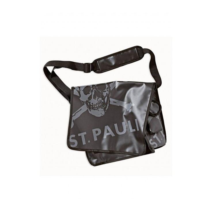St. Pauli Skull and Crossbones Courier Bag