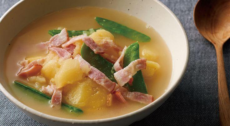 ごろごろじゃがいものおなかいっぱいスープ