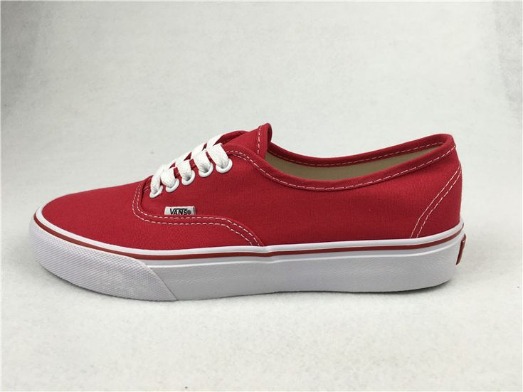 ac866d042525a4 Vans Era Pro Classic Red Womens Shoes  Vans