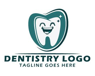 Dentistry logo Logo design - A smiling tooth is represented in this non conventional, artistic and unique logo, perfect for any company related with shoes, sport, fashion or sneakers in particular. The unique presentation combines old world charm with a new, creative bent. This conveys a feeling of old-fashioned values (such trustworthiness, quality and timelessness) with a modern flair — you won't be pigeon-holed as just another company with this logo!