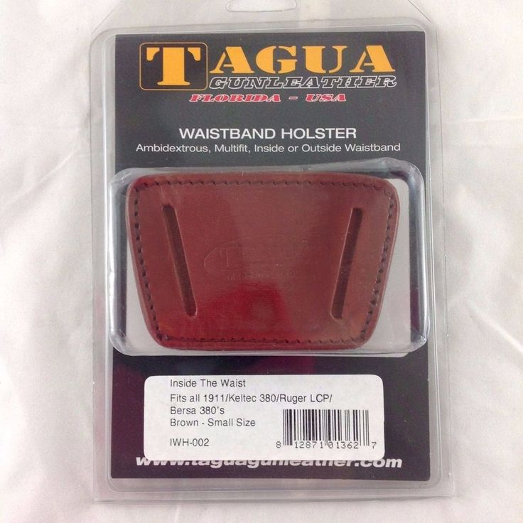 Tagua Gunleather Inside The Waistband Holster 1911 / 380 / LCP -  NIB #Tagua #InsideWaistbandIWB