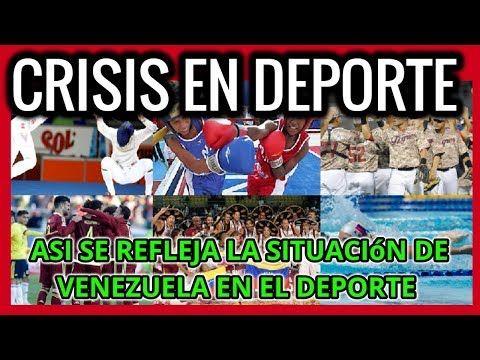 SITUACIÓN DEL DEPORTE EN VENEZUELA, ULTIMAS NOTICIAS.   Ver el video completo aqui ►https://youtu.be/dm6c7QP3Mv4