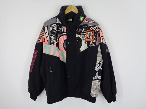 Quicksilver graphic jacket