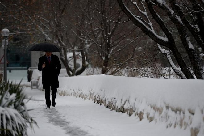 Ankara - (Fotoğraf) Yurttan kar manzaraları