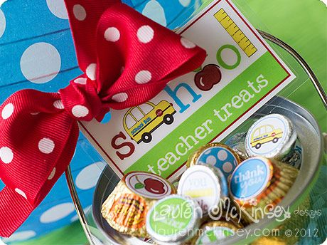 Lots of cute back to school ideas and printables (candy bar wraps, granola bar wraps, labels, etc) at http://laurenmckinsey.com/2012/08/think-cute-designs-its-back-to-school-we-go/