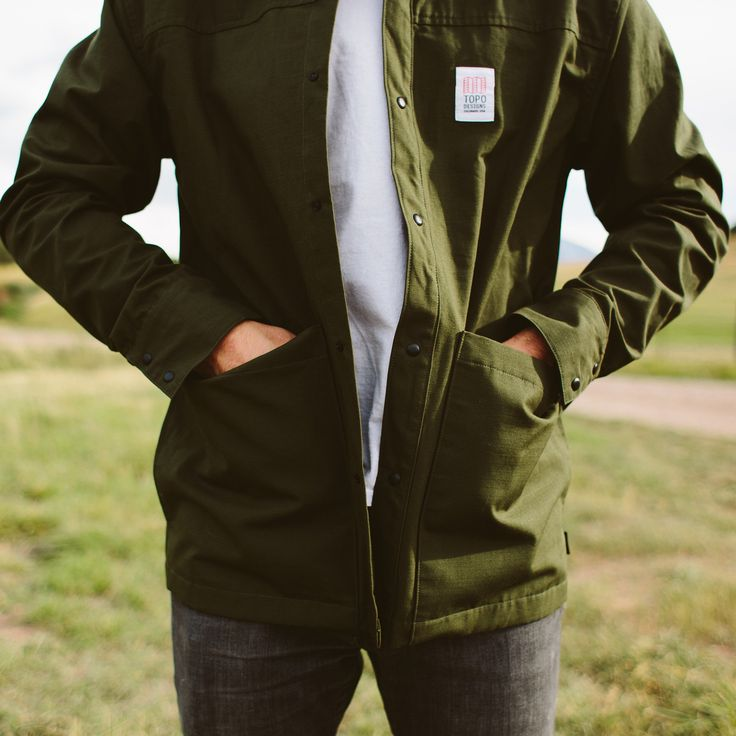 Topo Designs Field Jacket http://topodesigns.com/collections/fall-2016/products/field-jacket