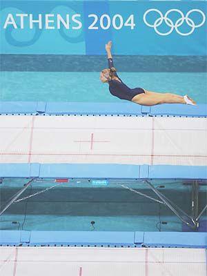 Trampoline aux Jeux Olympiques