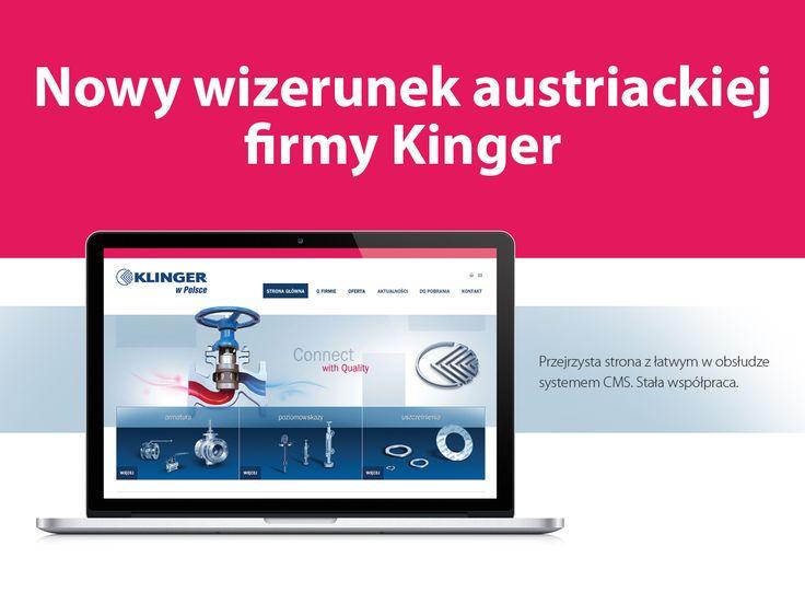 Nowy wizerunek austriackiej firmy Klinger.