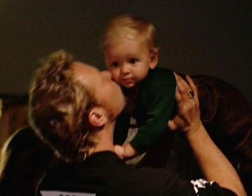 James Hetfield's son