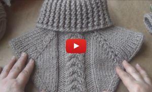 Videolu, Şiş Örgü Yaka Yapılışı