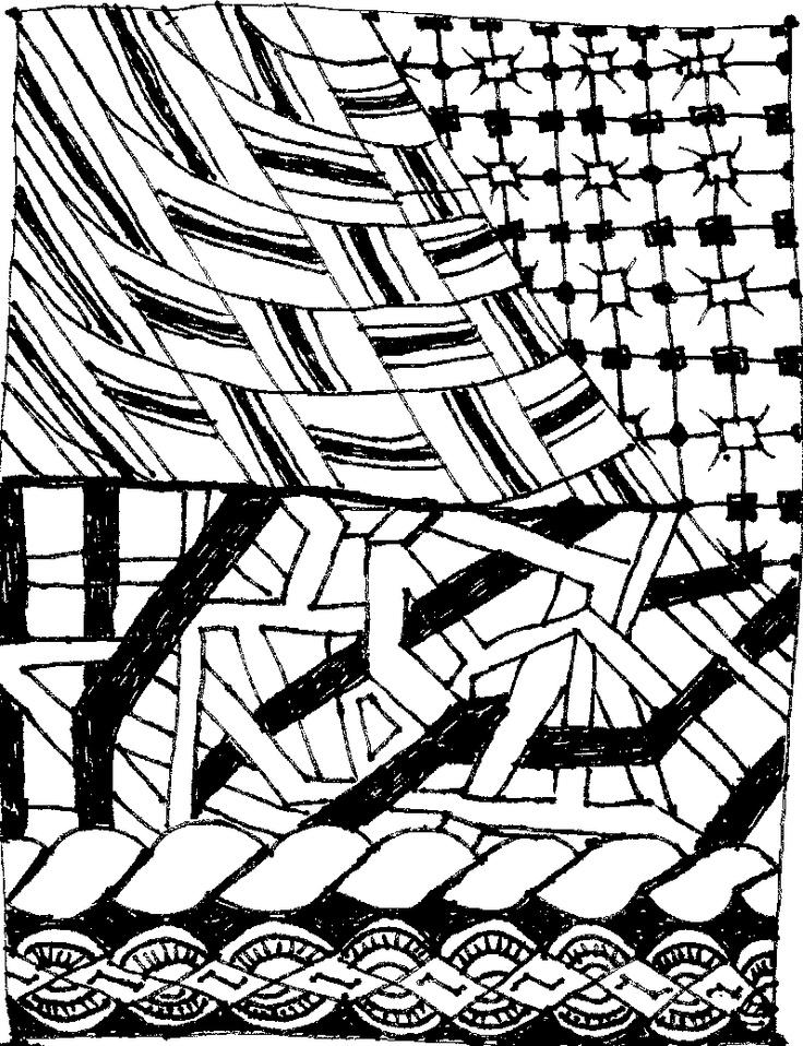 Zentangle #5