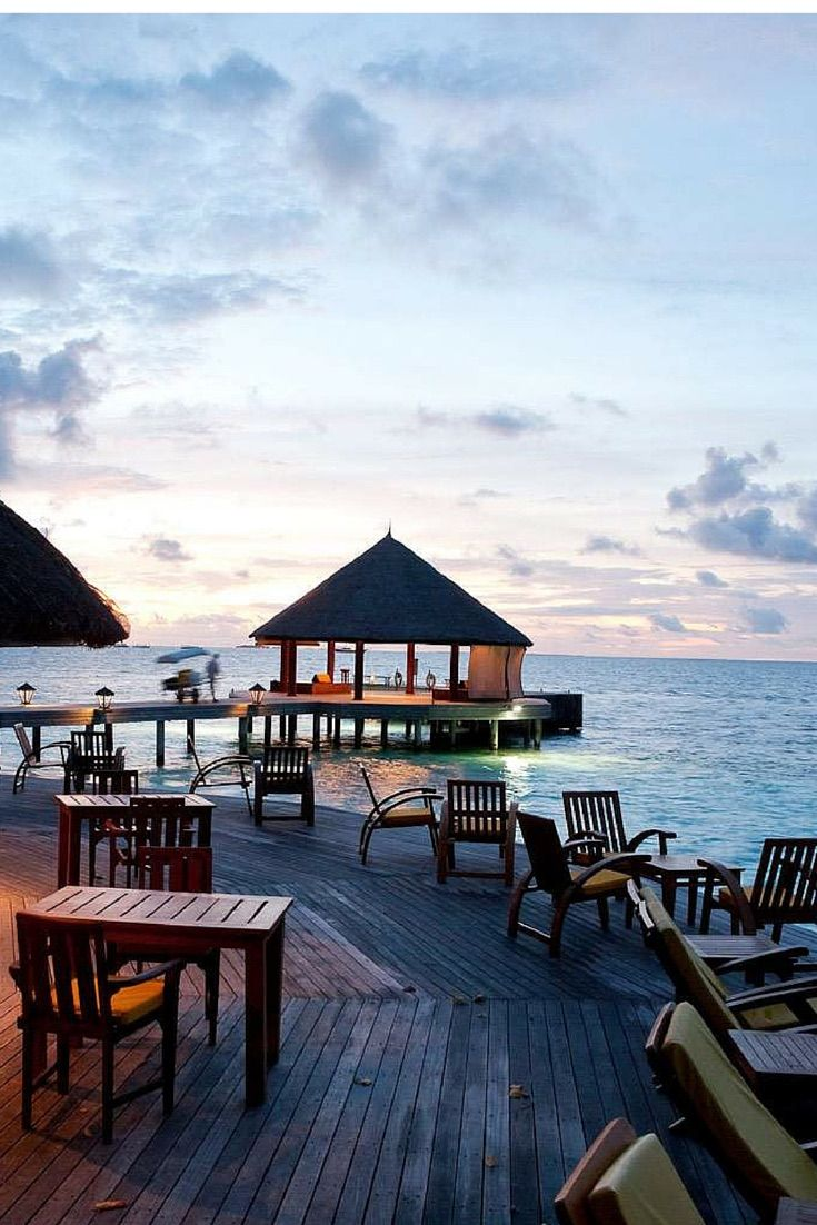 Sunset at Angsana Ihuru, Maldives