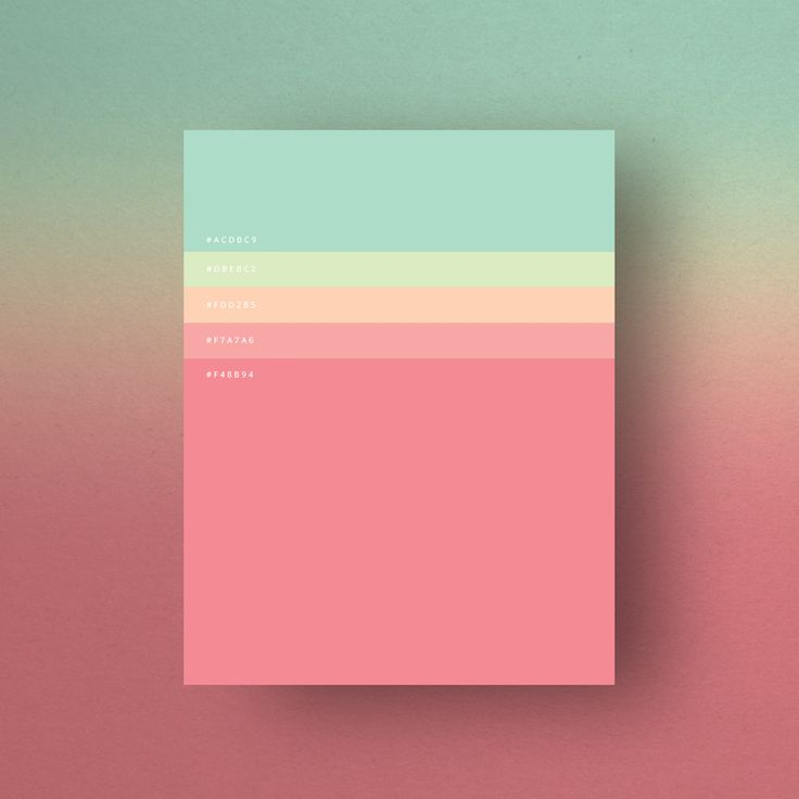 Colorful Minimalist Design: 17 Best Images About Color Palette On Pinterest