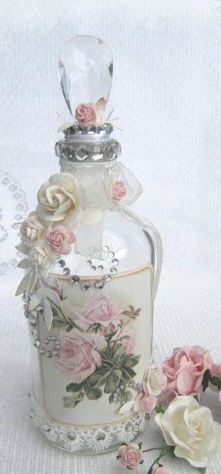 Shabby Chic Perfume Bottle
