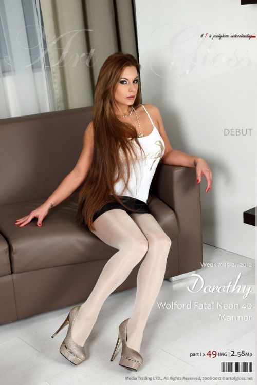 Nylon Obsessed  Nylon  Dress, Heels, Pretty Outfits Und -7526