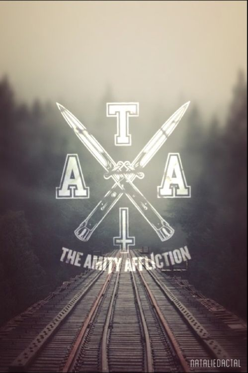 mine Typography edit logo ahren stringer the amity affliction joel ...