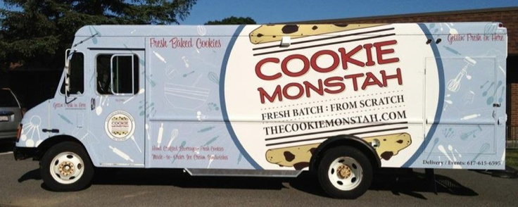 Boston contender, @MonstahTruck gears up for the competition! #FoodtruckThrowdown @foodthrowdown