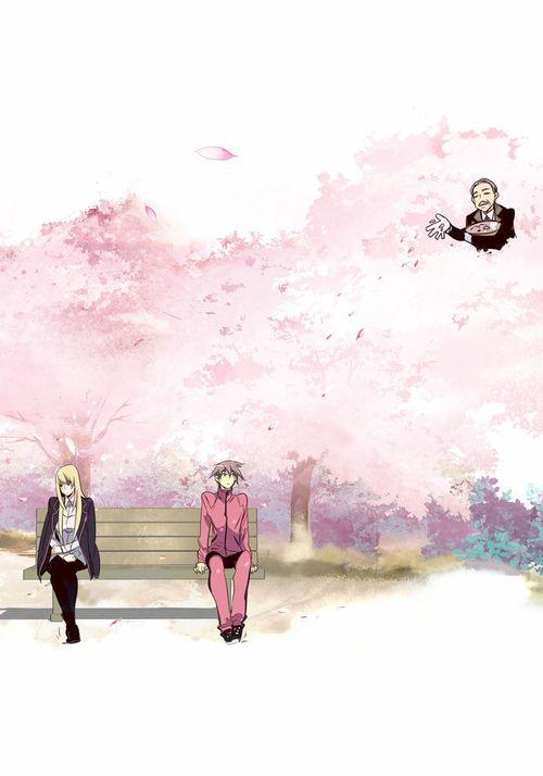 cherry blossom! #girlsofthewild's #webtoons #webtoon #line  m.webtoons.com
