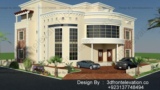 تصميم فيلا مودرن من اعمال هوم ديزاين New Modern Villa Elevation Design For Oman Modern Villa Design Villa Design Villa