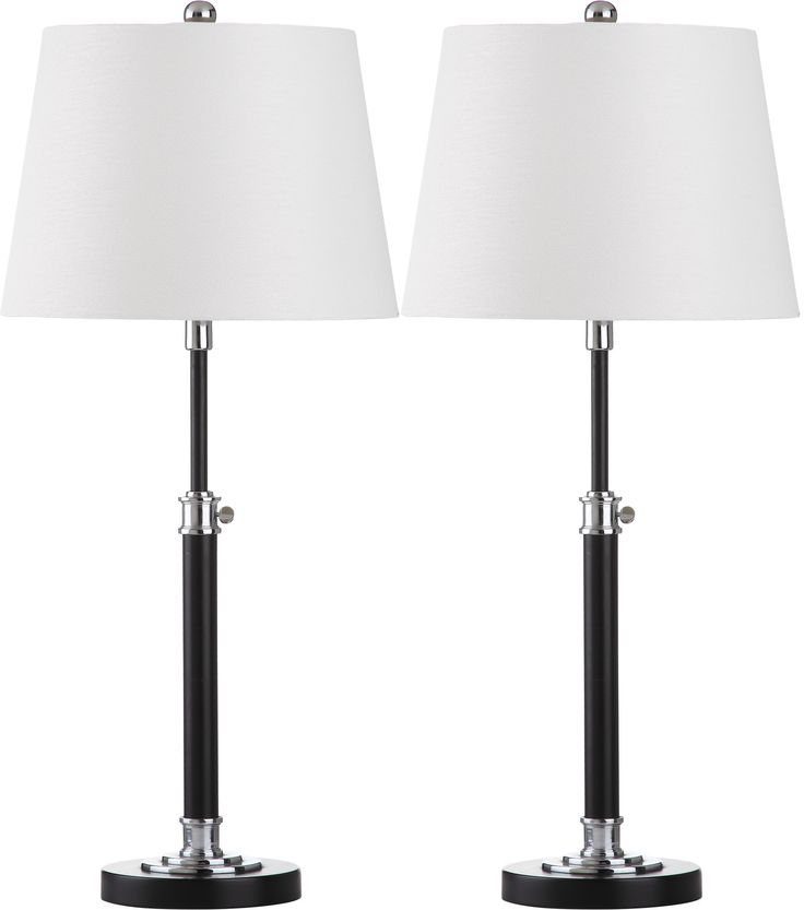 """Jones 29"""" H Table Lamp with Drum Shade"""