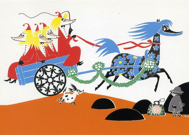 Moomins - carriage | Flickr - Photo Sharing!