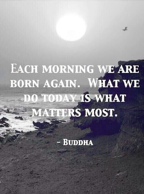 I have not checked to see if Buddha actually wrote this, but it's a lovely concept so I'm posting it either way.