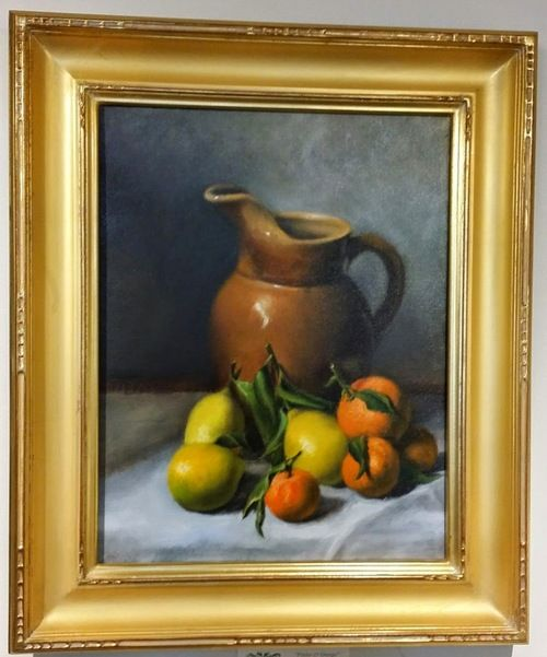 Pitcher with citrus II