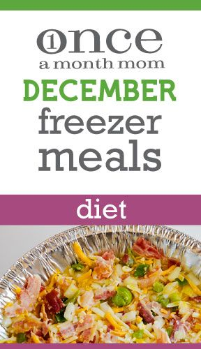 Freezer cooking menu for those watching what they eat - nutritional values and weight watcher's points plus included.