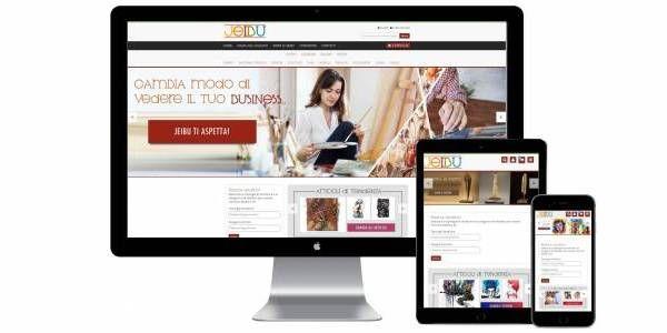 Jeibu è stato per il nostro studio un progetto ambizioso, originale e molto intrigante: un e-commerce dal carattere fortemente social. È un marektplace per artisti, designer e creativi makers in generale:  http://www.jeibu.com/it