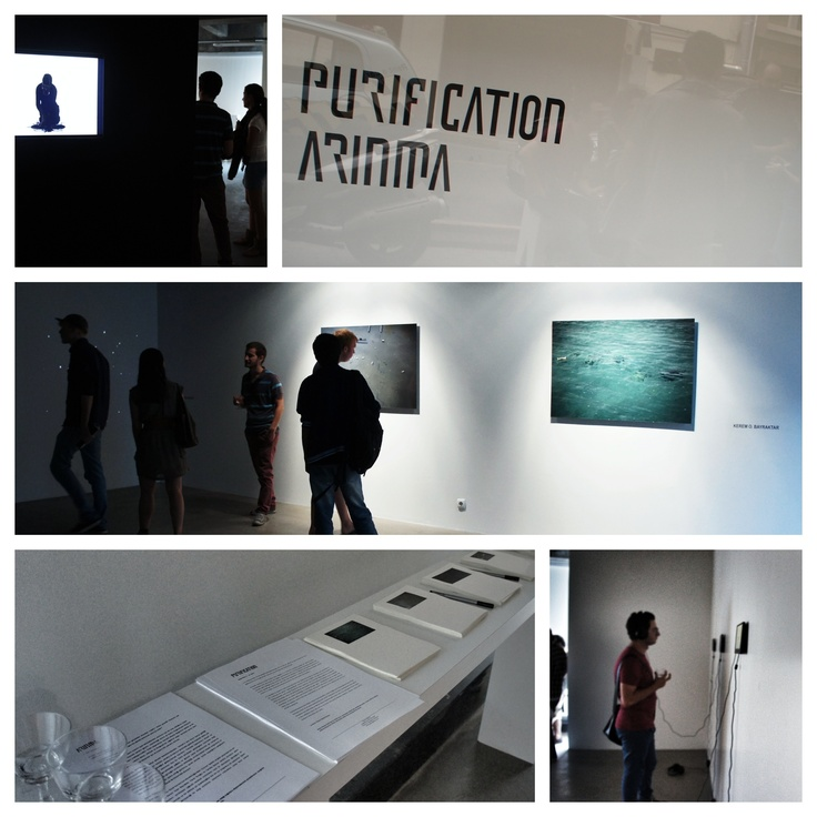 Opening of the 'Purification' show