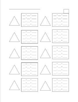 Number Names Worksheets : blank subtraction worksheet ~ Free ...