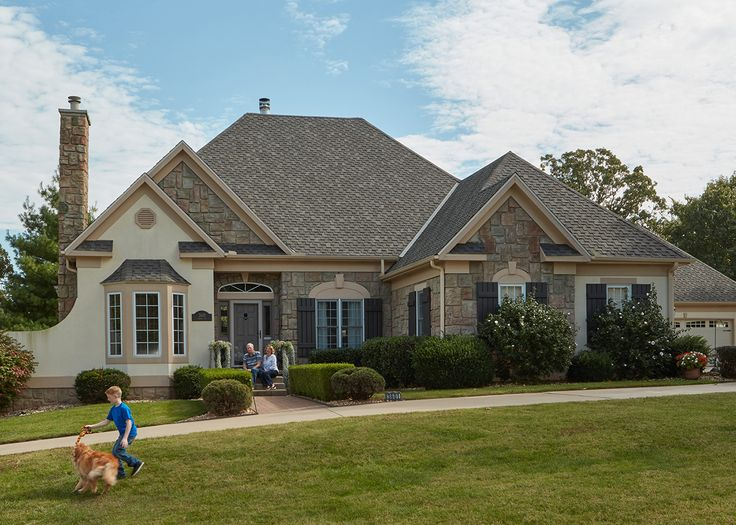 Don't just cover your home. Choose a shingle that goes with your lifestyle: TAMKO Heritage architectural shingles. Shingle styles and colors available to fit any home.