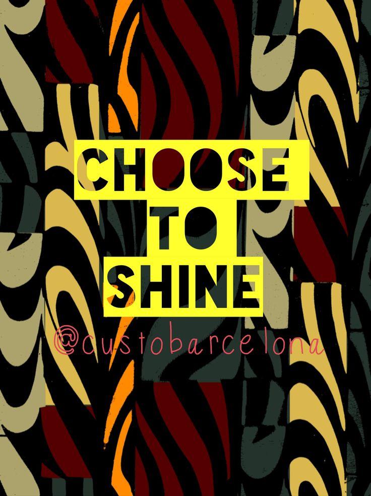 Brilla con Custo! Shine with Custo!