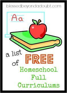 Free Online Homeschool Curriculum Programs
