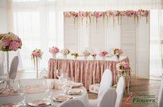 Свадьба в загородном отеле Терийоки в стиле шебби-шик