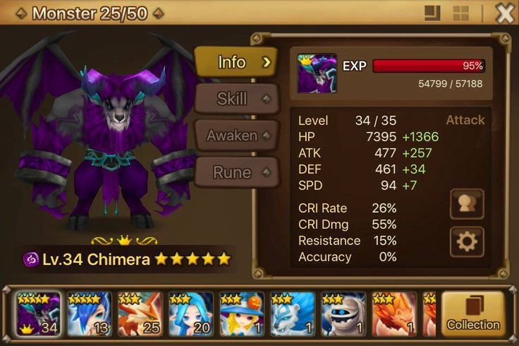 Summoners War Account Zeratu Baby Starter Account Global Lvl 17 Very Rare