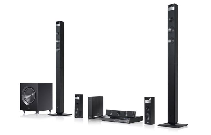 LG BH9420PW: 3D-Capable Blu-ray Disc™ Home Theater System with Smart TV and Wireless Speakers | LG USA